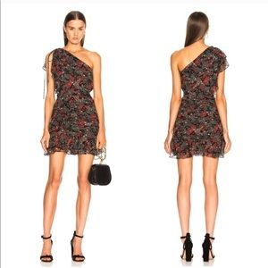 Veronica Beard Ballard One Shoulder Dress